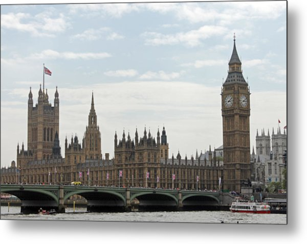 Houses Of Parliament Metal Print