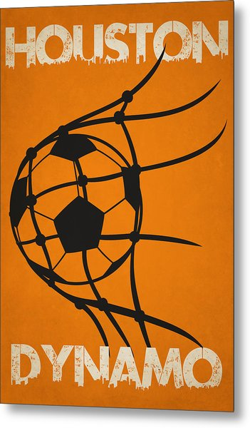 Houston Dynamo Goal Metal Print