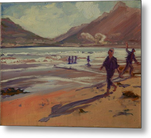 Hout Bay Beach Sunset Metal Print