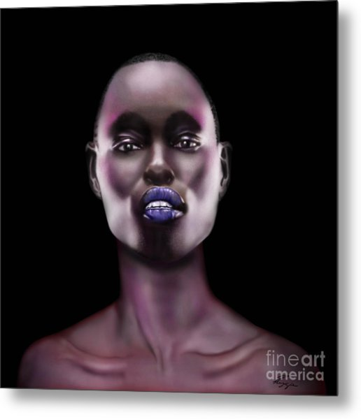 How Beautiful - The Color Purple Metal Print