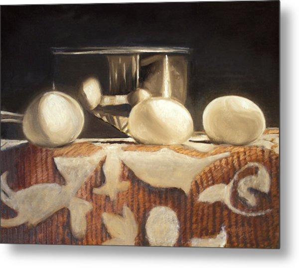 How Does Eggs For Breakfast Sound? Metal Print