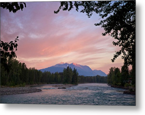 Metal Print featuring the photograph Hudson Bay Mountain British Columbia by Mary Lee Dereske