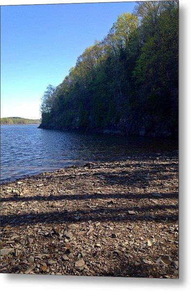 Hudson River Shoreline Metal Print