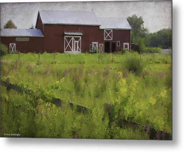 Hudson Valley Barn Metal Print