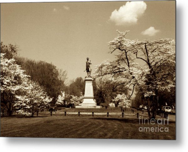 Hugh Mercer In Springtime II Metal Print