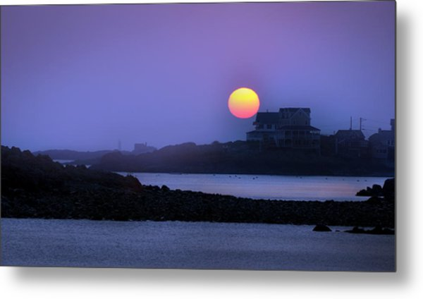 Hull Of A Sunrise Metal Print