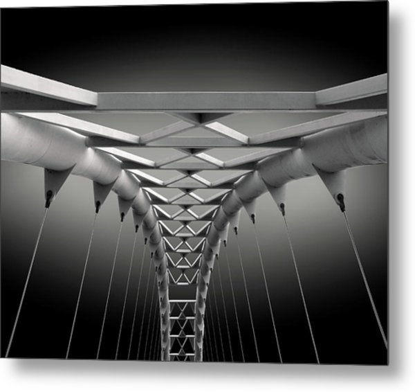 Humber Bridge Metal Print by Ivan Huang