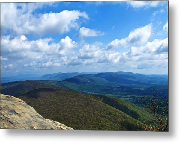 Metal Print featuring the photograph Humpback Rocks View North by Jemmy Archer