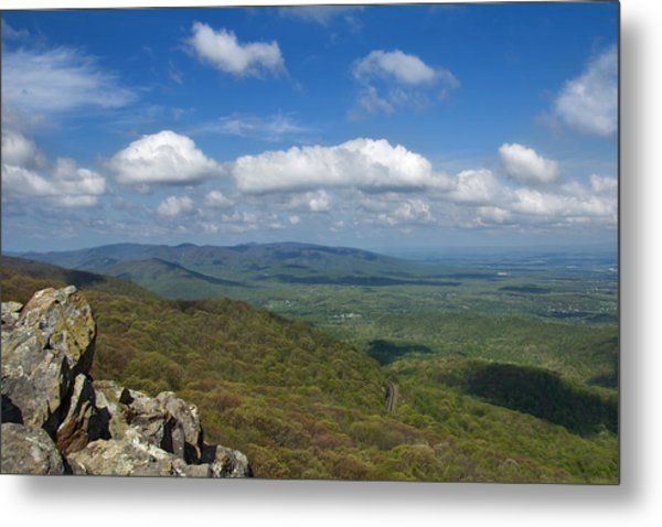 Metal Print featuring the photograph Humpback Rocks View South by Jemmy Archer