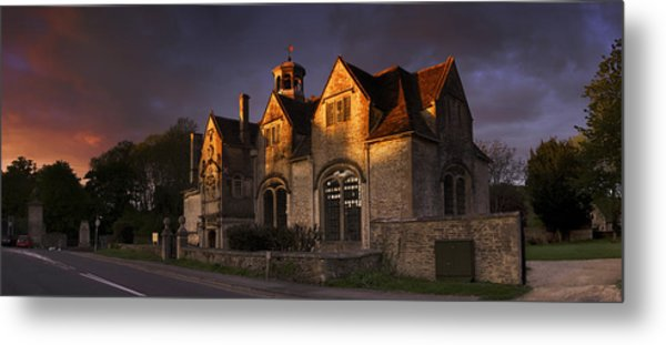 Hungerford Almshouses Metal Print