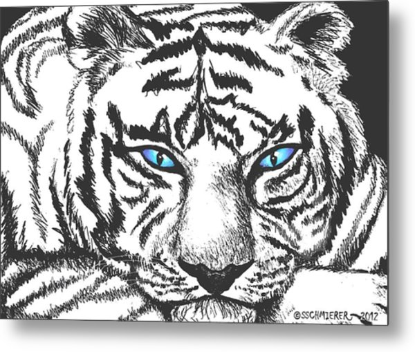 Hungry Eyes Metal Print