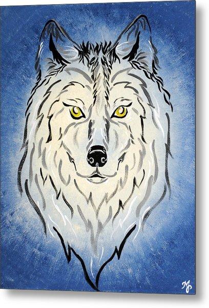 Hungry Like The Wolf Metal Print