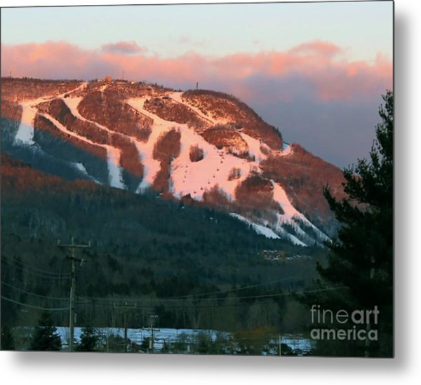 Hunter Mountain Morning Metal Print