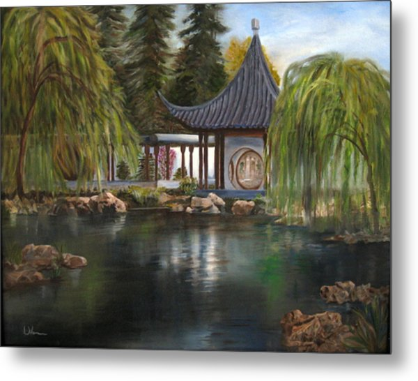 Huntington Chinese Gardens Metal Print