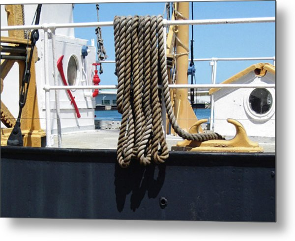 Huron 8 Metal Print by Mary Bedy
