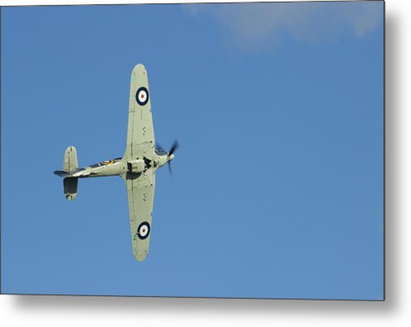 Hurricane In Action Metal Print by Donald Turner