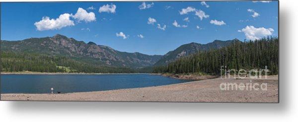 Hyalite Reservoir -- East View Metal Print