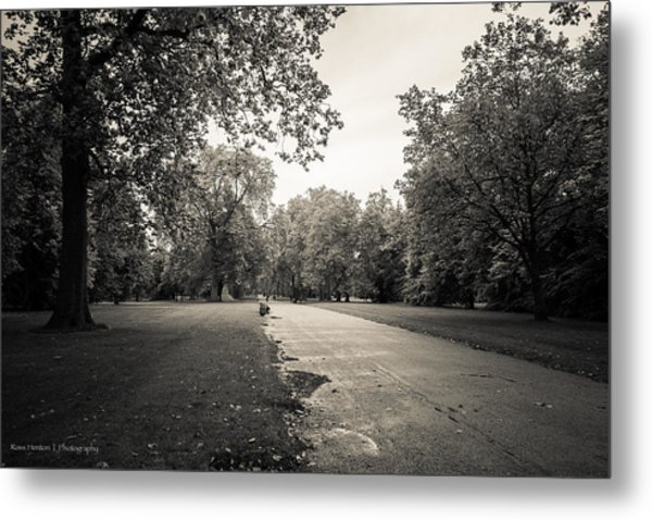 Hyde Park - For Eugene Atget Metal Print