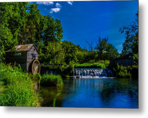 Hyde's Mill Metal Print
