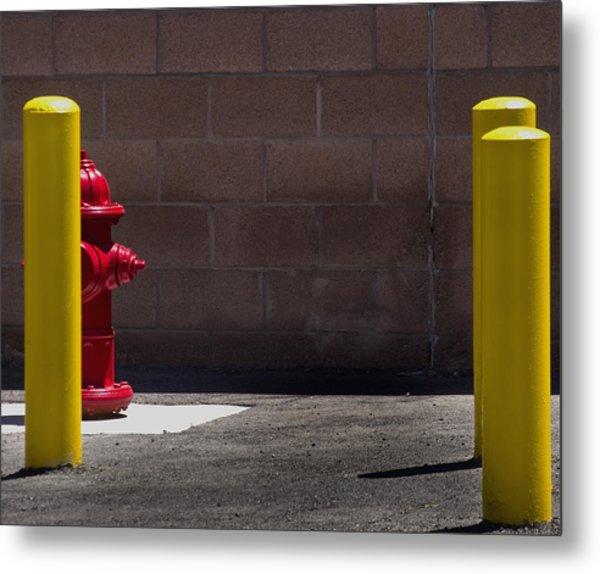Hydrant Metal Print by Kevin Duke