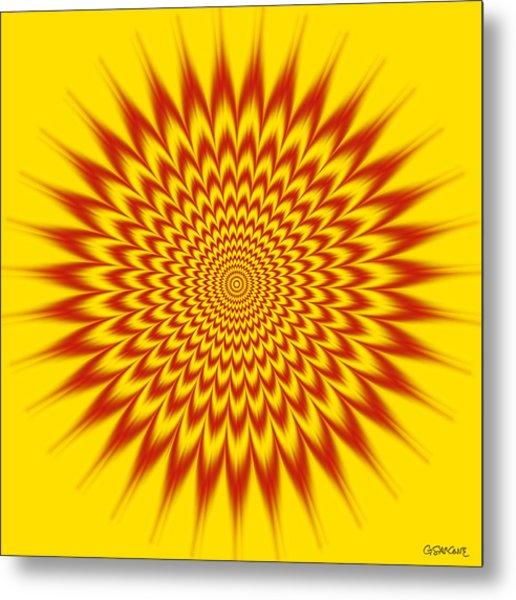 Hypnotic Vibes Metal Print