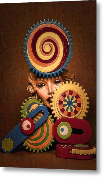 Hypnotic Woman 1 Metal Print