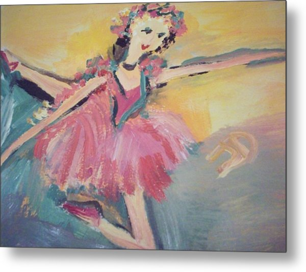 I Am Dancing A Love Song Metal Print