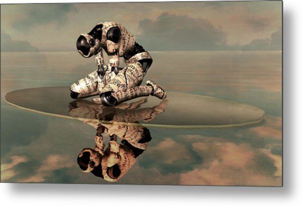 I Am Who I Am Metal Print by Whiskey Monday