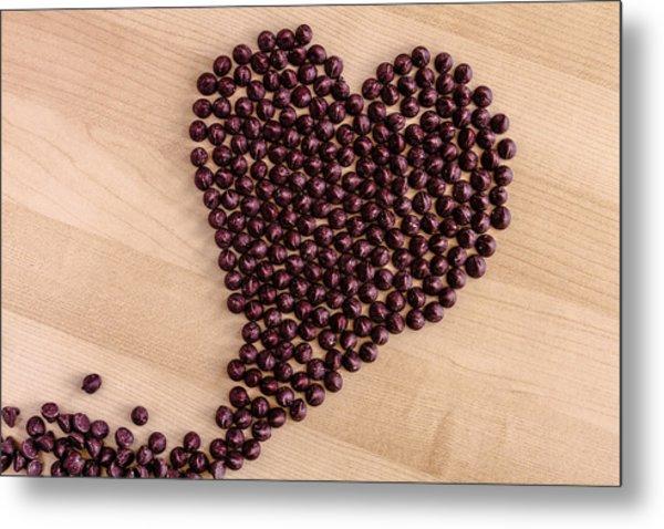 I Heart Chocolate Metal Print