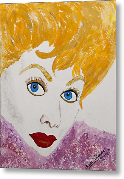 I Love Lucy Metal Print