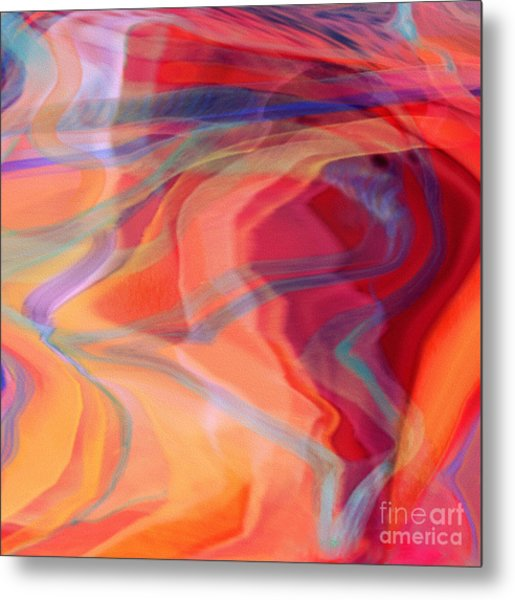 I Love That Song Metal Print by Joan A Hamilton
