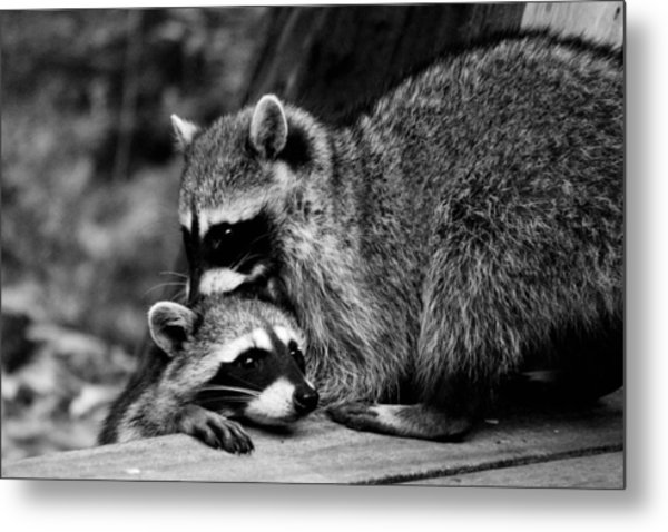 I Need Some Help Mommy Metal Print