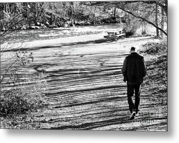 I Walk Alone Metal Print