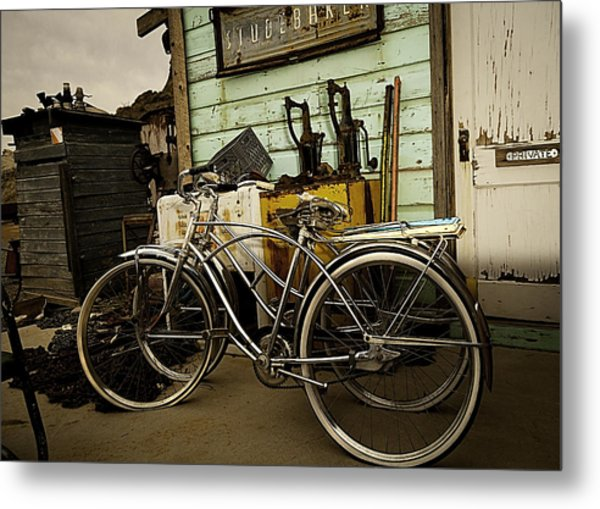 I Want To Ride My Bicycle 2 Metal Print