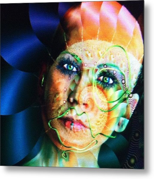 I Will Assimilate You Metal Print