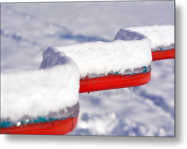 Ice And Snow-5621 Metal Print