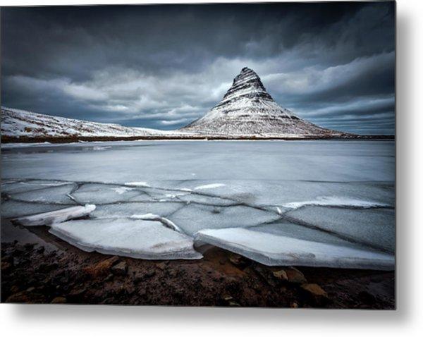 Ice-berg Metal Print