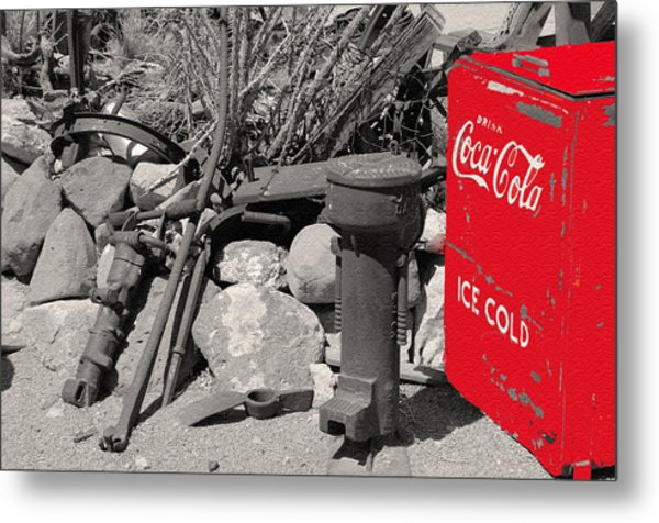 Ice Cold Drink Metal Print