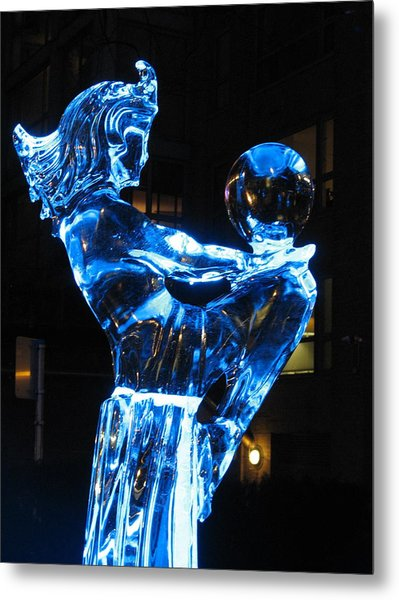 Ice Dancers Metal Print