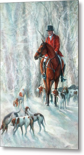 Ice Hounds Metal Print by Robyn Ryan