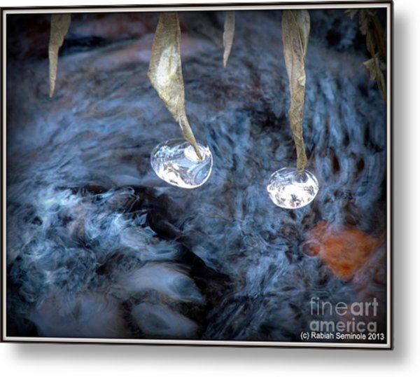 Ice Images Metal Print