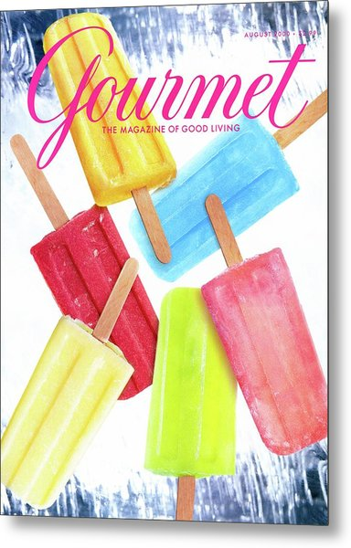 Ice Pops Metal Print