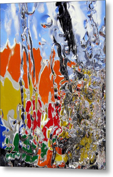 Metal Print featuring the photograph Ice Puzzle by Sami Tiainen