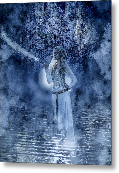 Ice Queen Metal Print