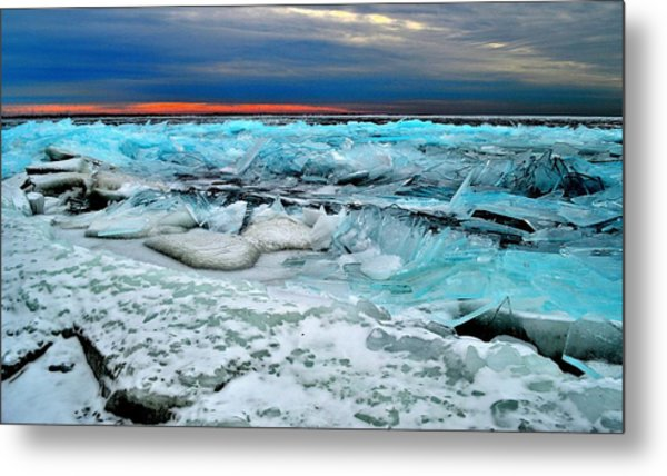 Ice Storm # 14 - Kingston - Canada Metal Print