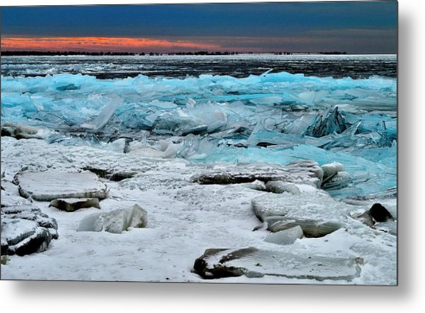Ice Storm # 17 - Kingston - Canada Metal Print