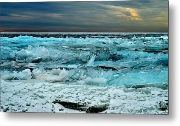 Ice Storm # 3 - Battery Bay - Kingston - Canada Metal Print