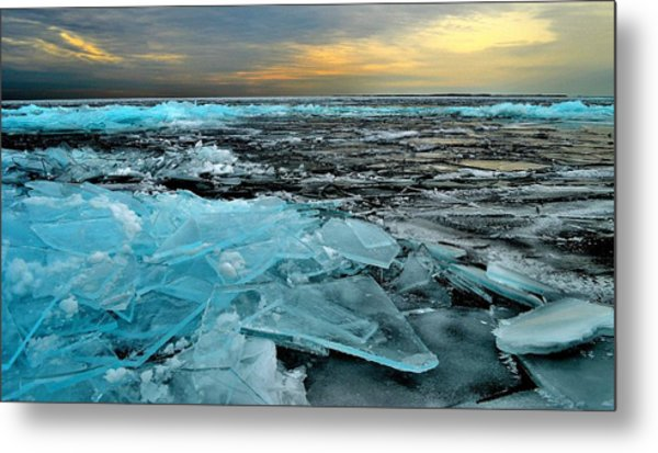 Ice Storm # 6 - Battery Bay - Kingston - Canada Metal Print