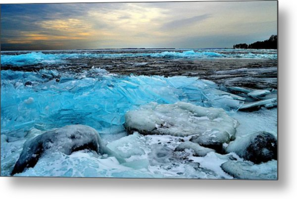 Ice Storm 16 - Kingston - Canada Metal Print