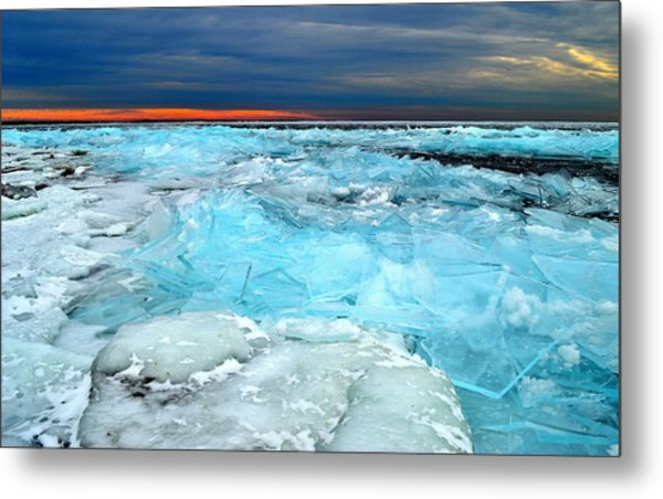 Ice Storm # 9 - Kingston - Canada Metal Print